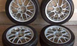 $475 BMW E39 Rims + Tires 17x7.5 DINAN 5 series M5 540 528