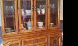 $475 Solid Wood China Hutch