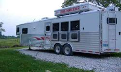 $48,000 2004 BLOOMER 4 Horse Bloomer, 15' short wall, Duster