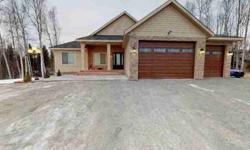 4951 W Christina Court Wasilla Four BR, Custom home with
