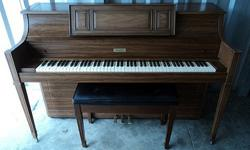 $499 Estey Console Piano For Sale - Very Good Condition -