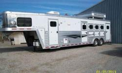 $49,500 2005 Bloomer 4H 12' SW Nice Roomy 4 horses