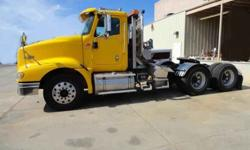 $49,500 Used 2007 International 9400I tractor day cab for