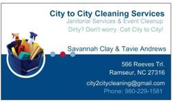 $49 City to City Cleaning Services