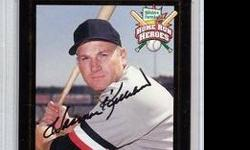 $49 Harmon Killebrew Autographed 1999 HOME RUN HEROS Card