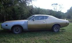 $4,000 1971 Dodge Charger Gold