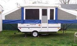$4,000 2005 Flagstaff 206 LTD pop up camper