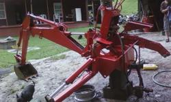 $4,000 OBO Backhoe tractor attachment