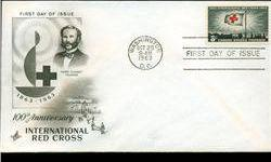 $4 1963 US First Day Postal Cover (STM-002441)