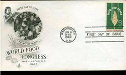 $4 1963 US First Day Postal Cover (STM-002449)