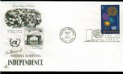 $4 1967 UN First Day Postal Cover (STM-002688)