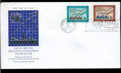 $4 1968 UN First Day Pair Postal Cover (STM-002744)
