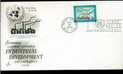 $4 1968 UN First Day Postal Cover (STM-002738)