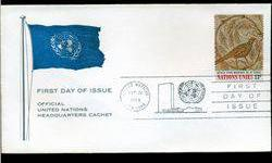 $4 1969 UN First Day Postal Cover (STM-002775)