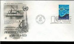 $4 1971 UN First Day Postal Cover (STM-002922)