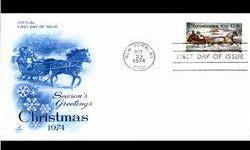 $4 1974 US First Day Postal Cover (STM-003056)