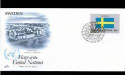 $4 1983 UN First Day Postal Cover (STM-003874)