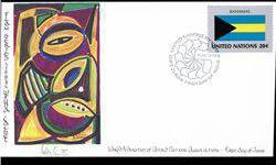 $4 1984 UN First Day Postal Cover (STM-003438)
