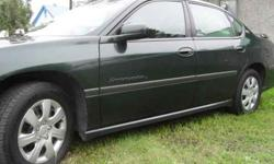 $4,200 2002 Chevrolet Impala LS, Leather, Sun Roof