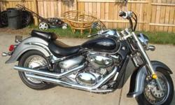 $4,200 2005 Suzuki Boulevard C50 800cc with about 8kmiles