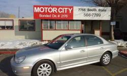 $4,295 Used 2002 Hyundai Sonata for sale.