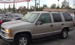 $4,450 Used 1999 Chevrolet Tahoe for sale.