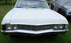 $4,500 1967 Impala 4 door Hardtop Chevrolet Chevy Project