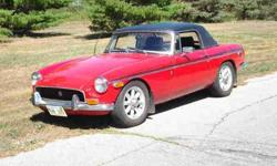 $4,500 1972 MG MGB For Sale