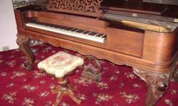 $4,500 Steinway Grand Piano 1859 Rosewood Trades ???