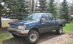 $4,500 Toyota T100 SR5 4x4 automatic. 189,800 miles