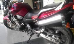$4,800 OBO 2007 HONDA CB900F By original owner