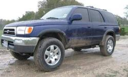 $4,900 1999 Toyota 4 Runner Reduced by $ 3000