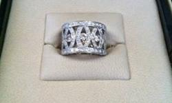 $4,900 3.22 Carat Diamond Ring in Perfect Condition