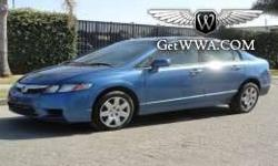 $4,950 2009 Honda Civic $4,950, Blue, 42,221 mi, 2009 Honda