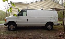 $4,999 OBO Ford E-350 Super Duty Cargo Van with roof Rack