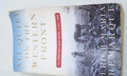 $4 OBO All Quiet on the Western Front ISBN:[phone removed]