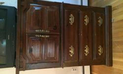 4 Piece Antique Bedroom Furniture Set