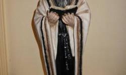 $4 Rabbi, hand-painted china figurine