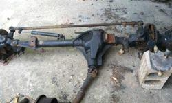 4WD Front & Rear end Dually Dana 60s