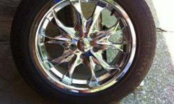 $500 17 in. Ice Chrome Wheels and Tires (North Vernon, IN)