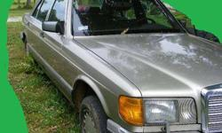 $500 1987 Mercedes benz 300sdl -Auto- needs work or for
