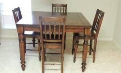 $500 7 pc dining room table set