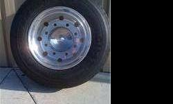$500 Alcoa 17.5 8-Bolt Rims W/ Goodyear Tires New