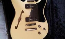 $500 Fender TC 90 Thinline electric guitar (Logan)
