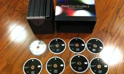 $500 OBO FINAL CUT STUDIO 2 with 3 Upgrade