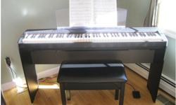 $500 OBO Yamaha P95 88 Key Hammer Action Digital Piano and