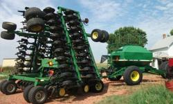 $50,000 1996 John Deere 1850 Air Seeder