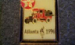$50 1996 Atlanta Olympic Pin (texaco) Gas Truck