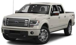$50,920 2013 Ford F-150 Platinum