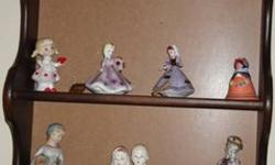 $50 Collection of 20 hand-painted china figurines and other